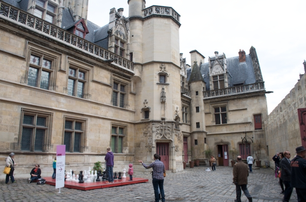 Cluny - Courtyard