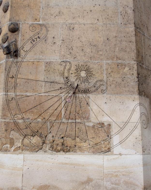 Cluny - Sundial