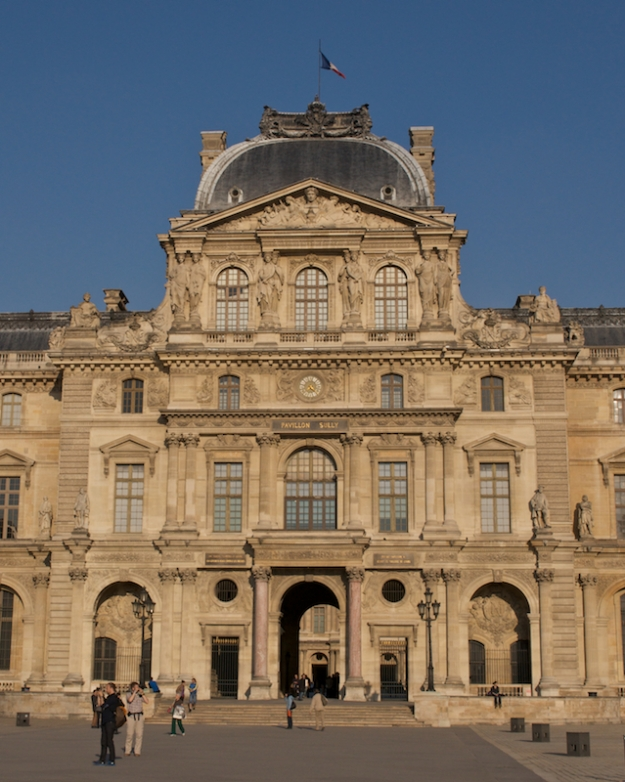 Louvre Afternoon Light