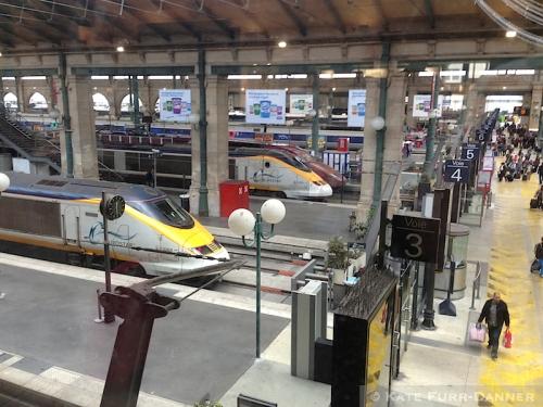 10 Eurostar to London