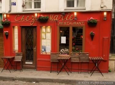 Chez Marie, 27 Rue Gabrielle, Montmartre