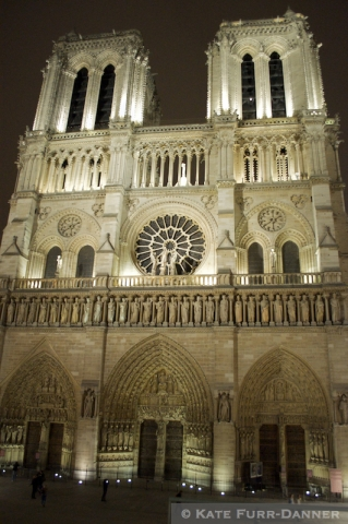 11f Notre Dame at Night