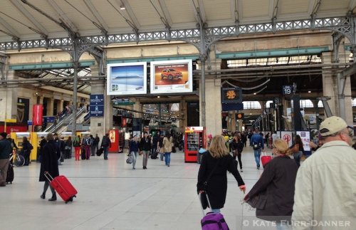 8 Eurostar Station