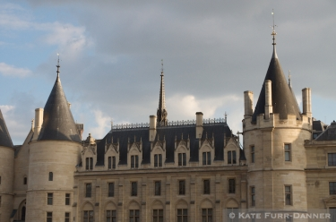 Architecture - Tower Rooms Along The Seine