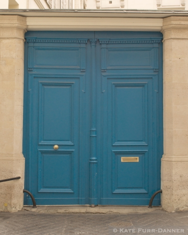 Colored Door - Light Blue