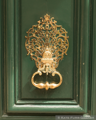 Door Knocker - Brass