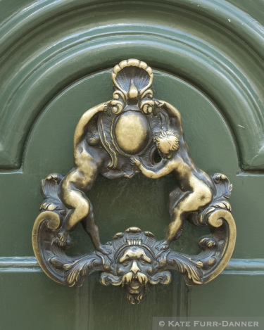 Door Knocker - Cherubs
