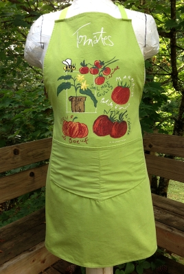 Green Tomato Apron