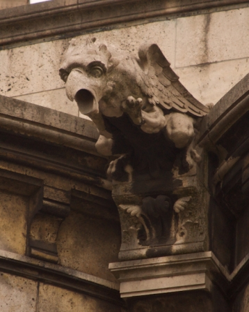 Gargoyle on Sacre Coeur