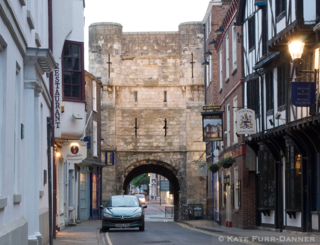 York City Wall Gatehouse