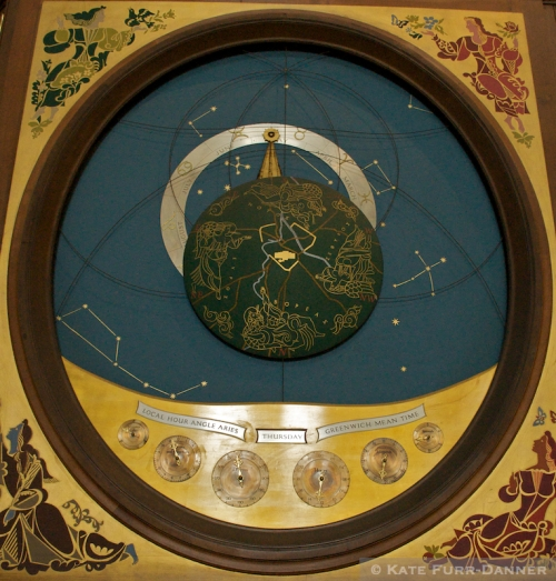 York Minster Astronomical Clock Detail