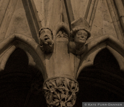 York Minster Chapter House Grotesques 1