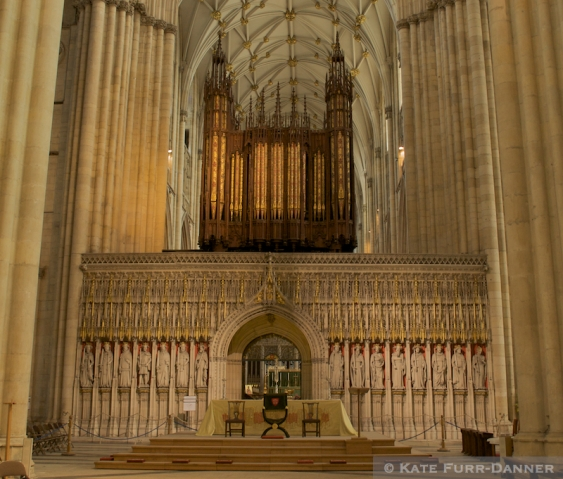 York Minster Pipe Organ