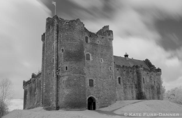 Doune Castle Infrared