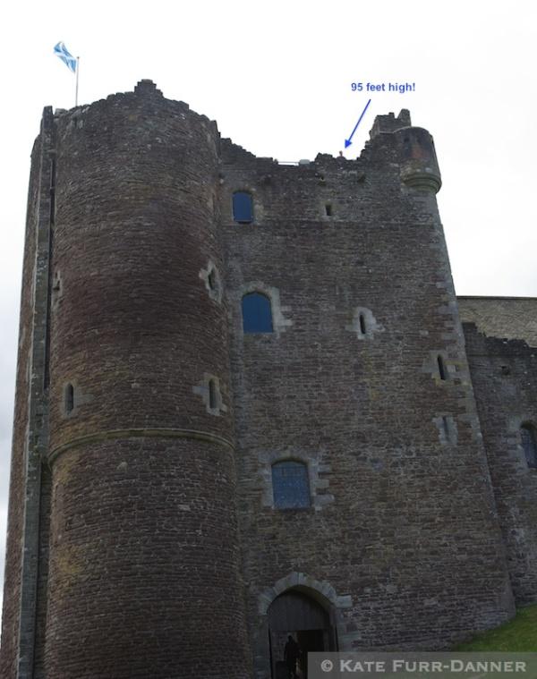 Doune Castle Kate