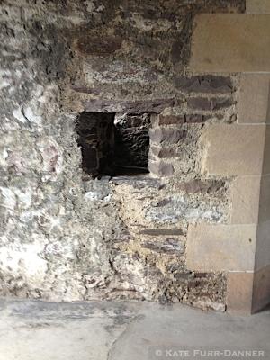Doune Castle Private Chapel Hole