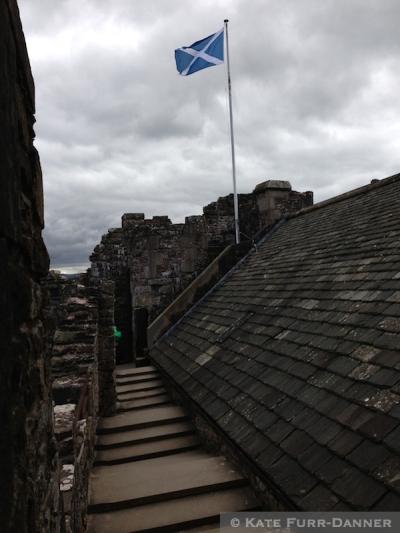 Atop Doune Castle