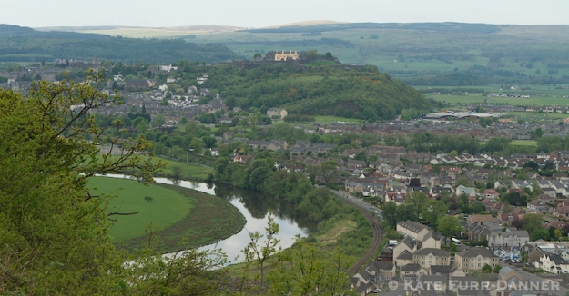 Stirling Castle from the Wallace Monument