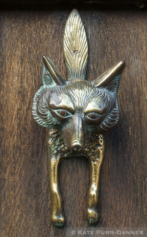 Fox Doorknocker Burford