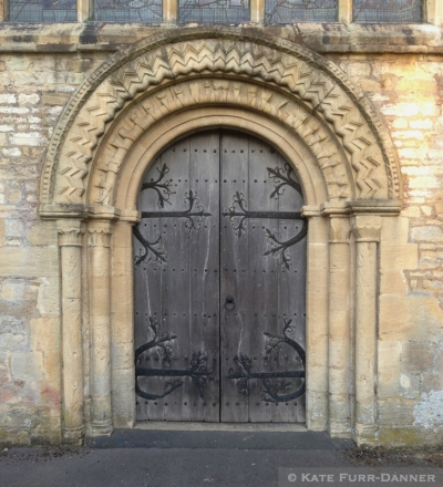 Iron and Wood Door Burford