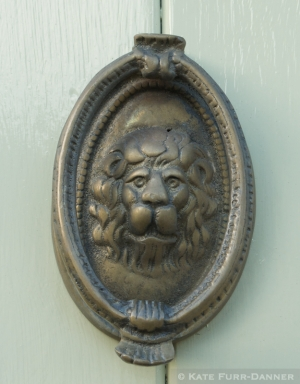 Lion Doorknocker Burford