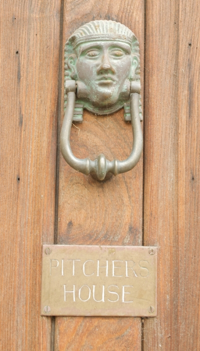 Pharoh Door Knocker Chipping Campden