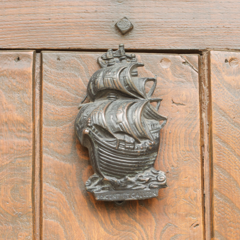Sailing Ship Door Knocker Cotswolds