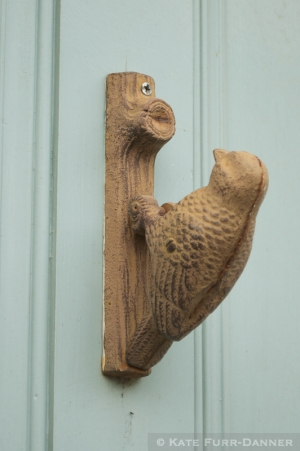 Woodpecker Doorknocker