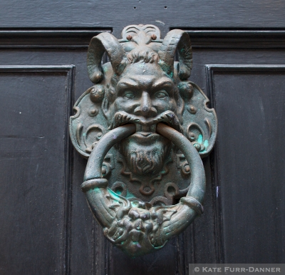 York Jester Doorknocker