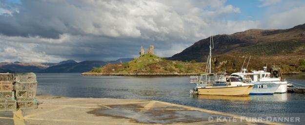 Castle Moil, Kyleachin, Isle of Skye