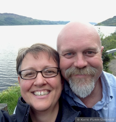 Kate & Jim at Loch Ness